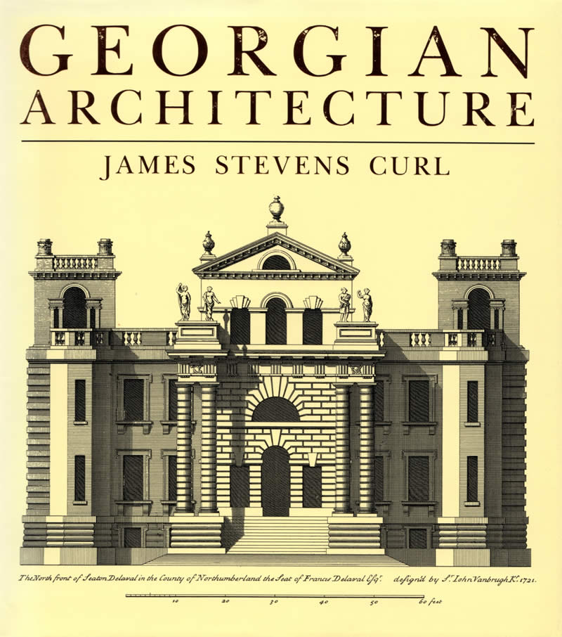 Georgian period architecture home design for Home architecture books